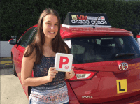 A massive thank you to M.I.M driving school